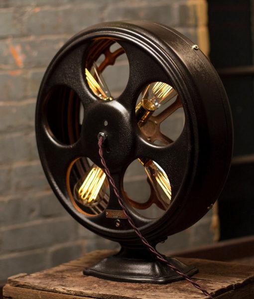 Radio Speaker Table Lamp – Large