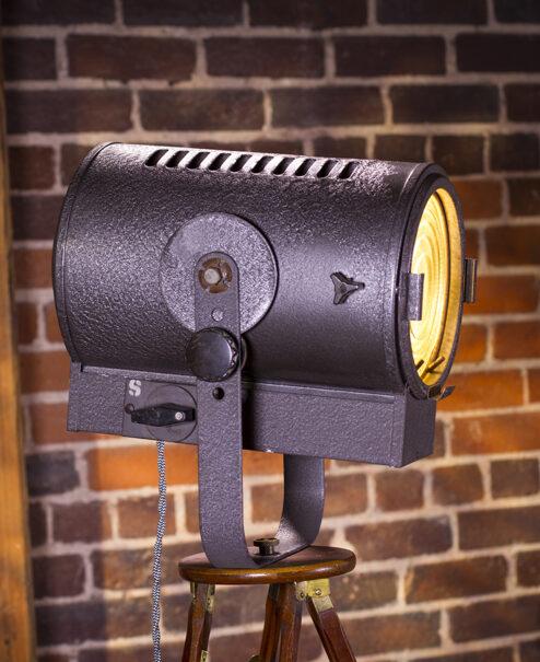 Vintage Stage Amp Studio Spotlight Floor Lamp Dan