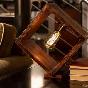 Shadow Box Edison Lamp