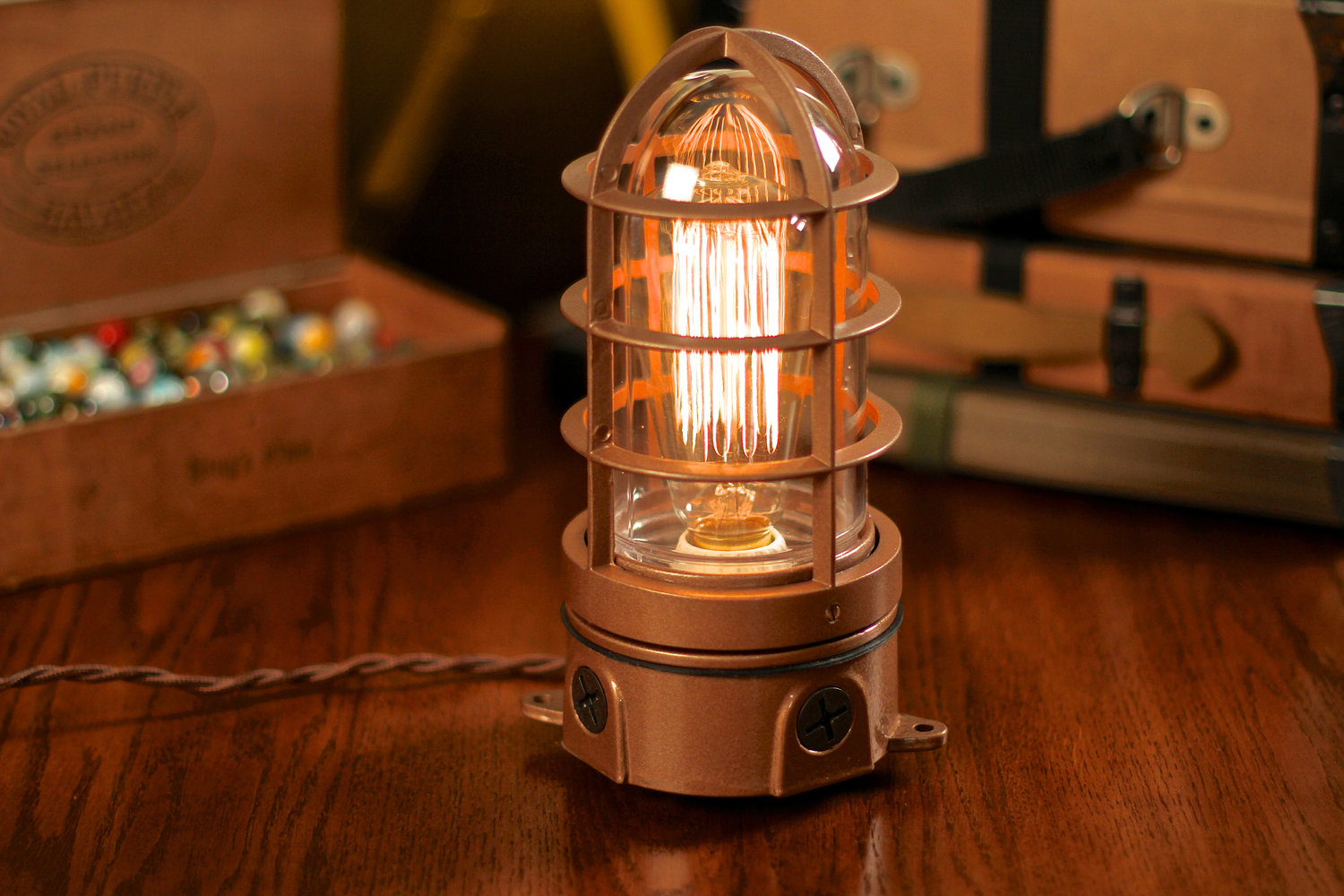 Vintage Flashlight Table Lamp. Filter.  Industrial_explosion_proof_table_lamp Gallery