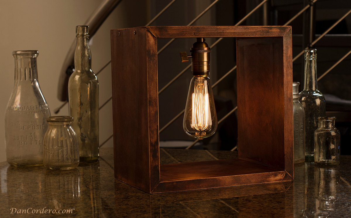 Shadow Box Lamp