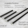 Pendant Rod Extension Kit