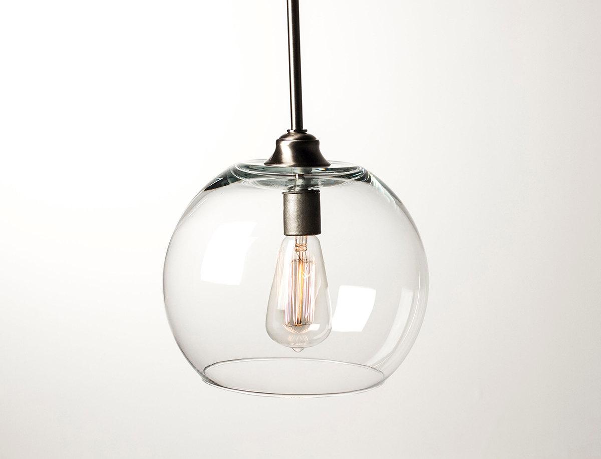Pendant Light Fixture Edison Bulb Large Globe Dan