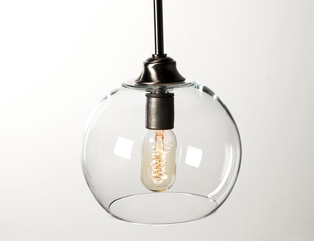 pendant light fixture edison bulb small globe. Black Bedroom Furniture Sets. Home Design Ideas