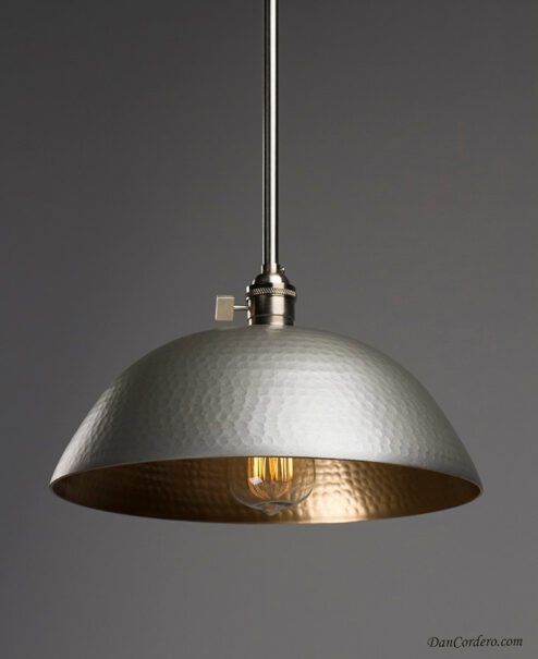 Hammered Edison Pendant Light