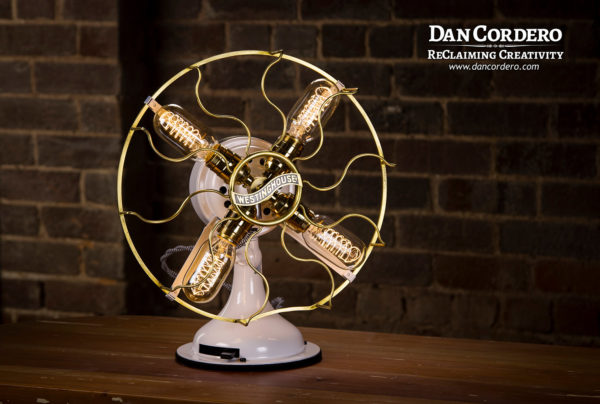 Vintage Fan Lamp - Westinghouse