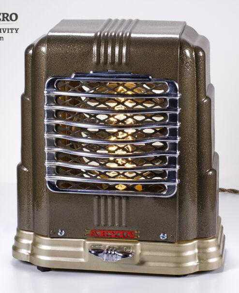 Vintage Heater Table Lamp