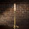 Fire Hose Nozzle Lamp