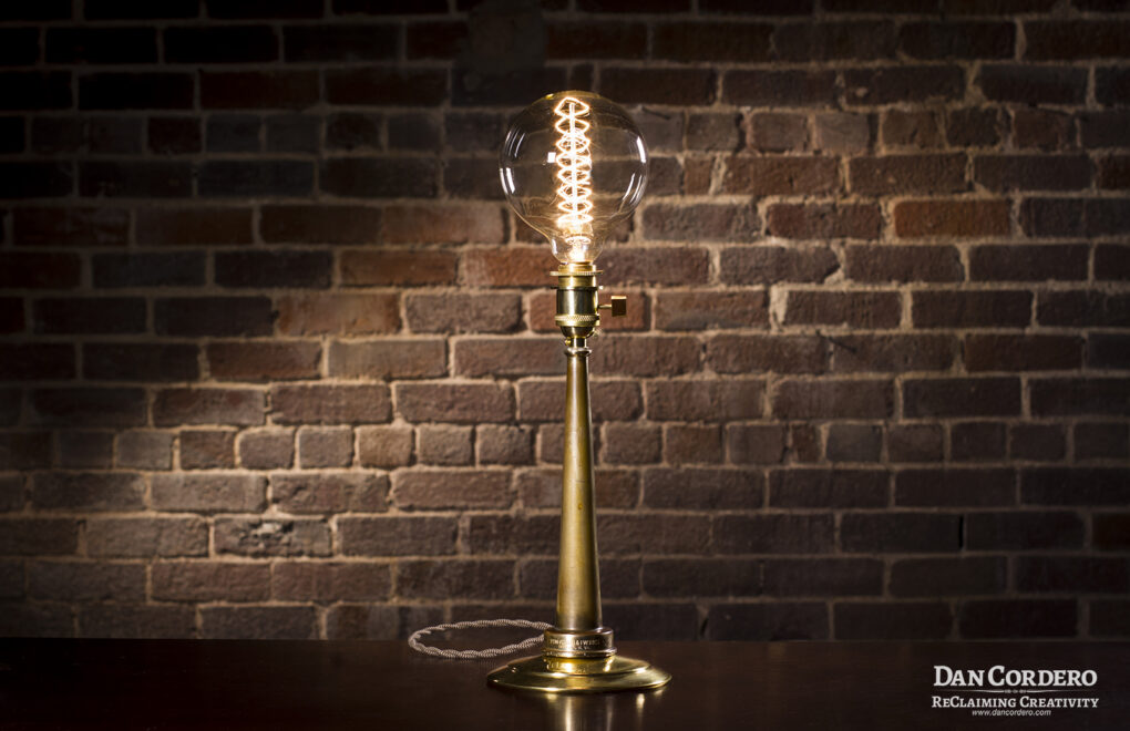 Fire Hose Nozzle Lamp