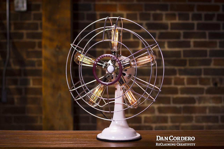 Westinghouse Fan Lamp Table Lamp Vintage Fan