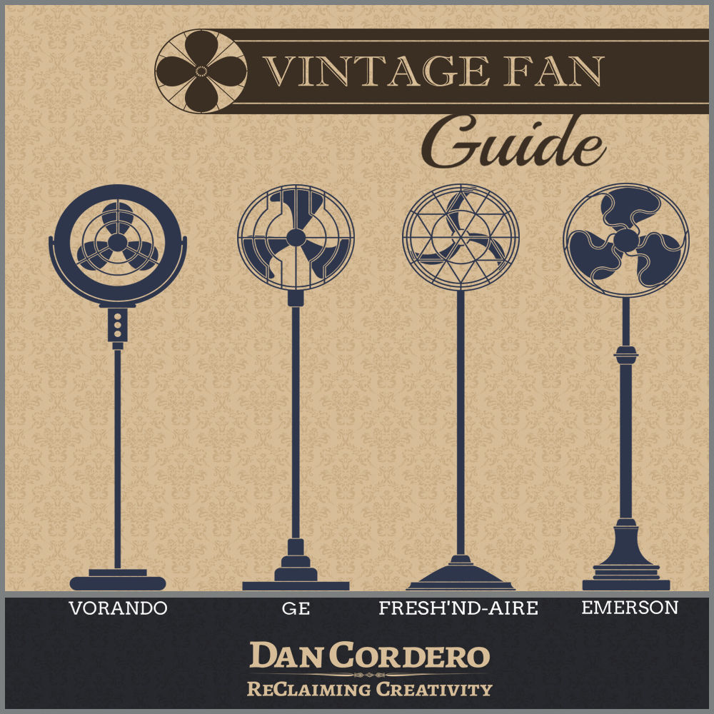 Vintage Fan Guide Infographic