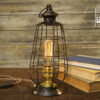 Metal Edison Lamp