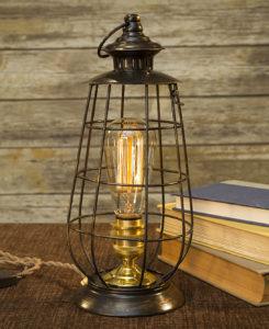 Metal Edison Lamp