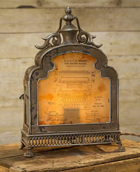 Typewriter Patent Lamp
