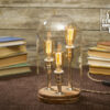 Edison Bell Jar Table Lamp