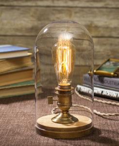 Bell Jar Lamp