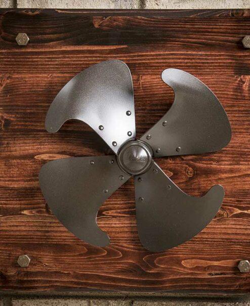 Vintage Fan Blade Wall Decor
