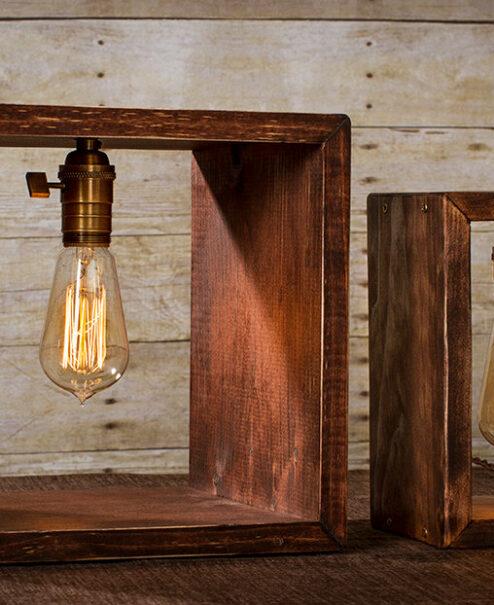 Shadow Box Lamp