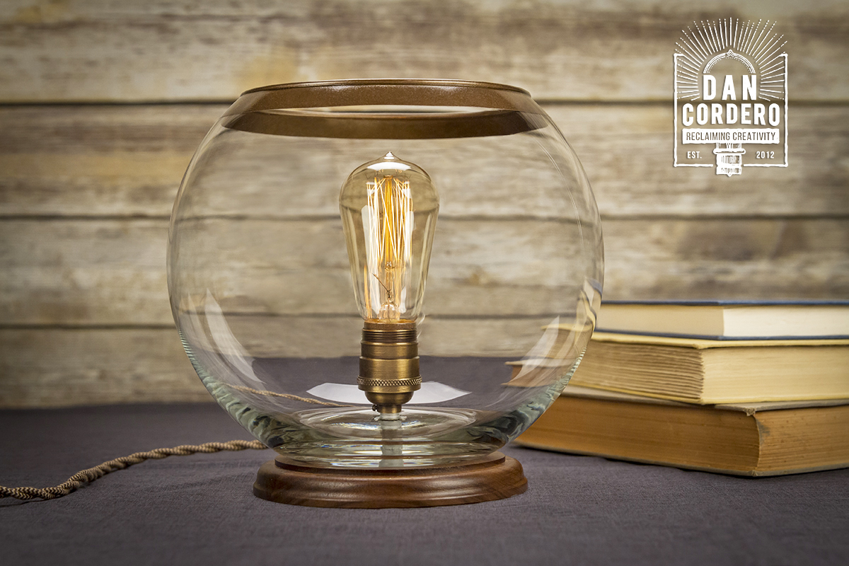 glass globe table lamp desk lamp edison lamp. Black Bedroom Furniture Sets. Home Design Ideas