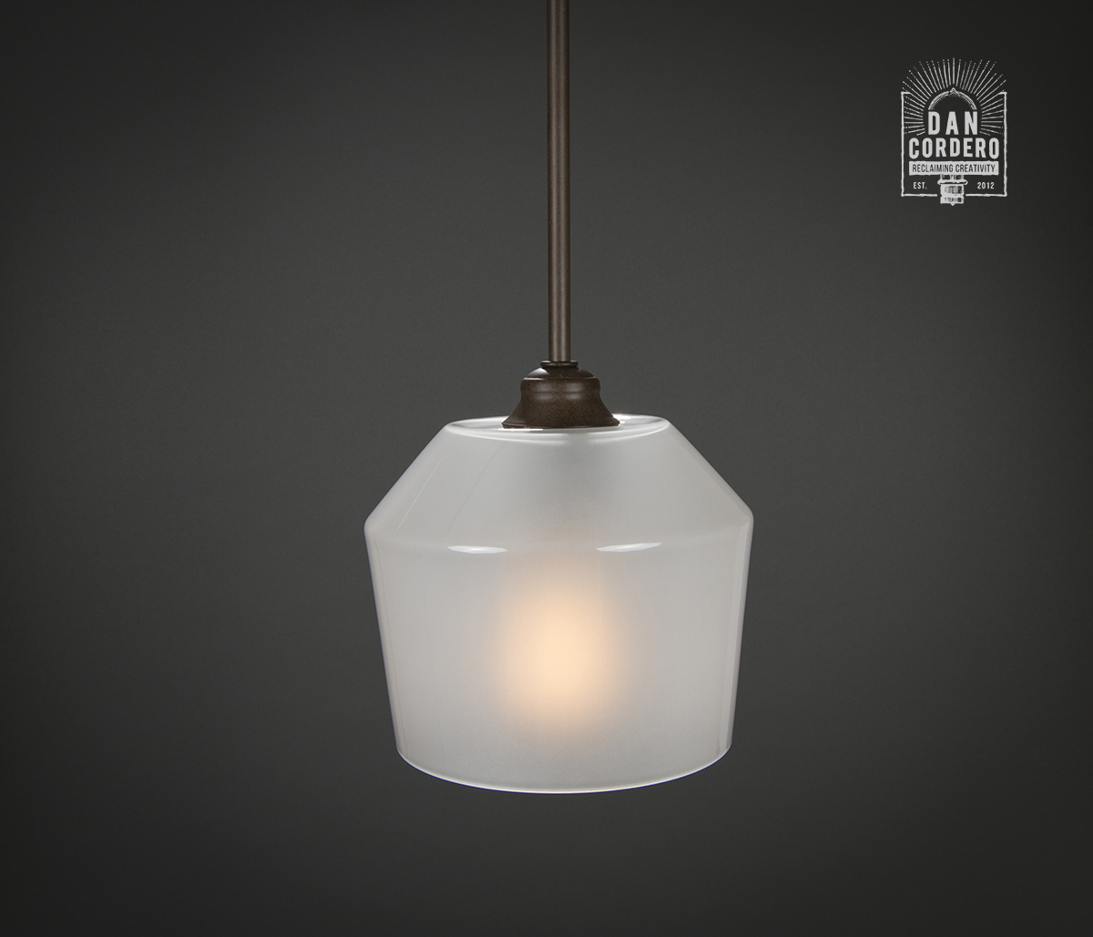 Pendant Light Fixture Edison Bulb Oil Rubbed Bronze