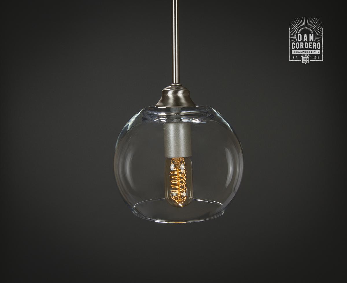 Shop Progress Lighting 4 Light Calven Brushed Nickel: Pendant Light Fixture