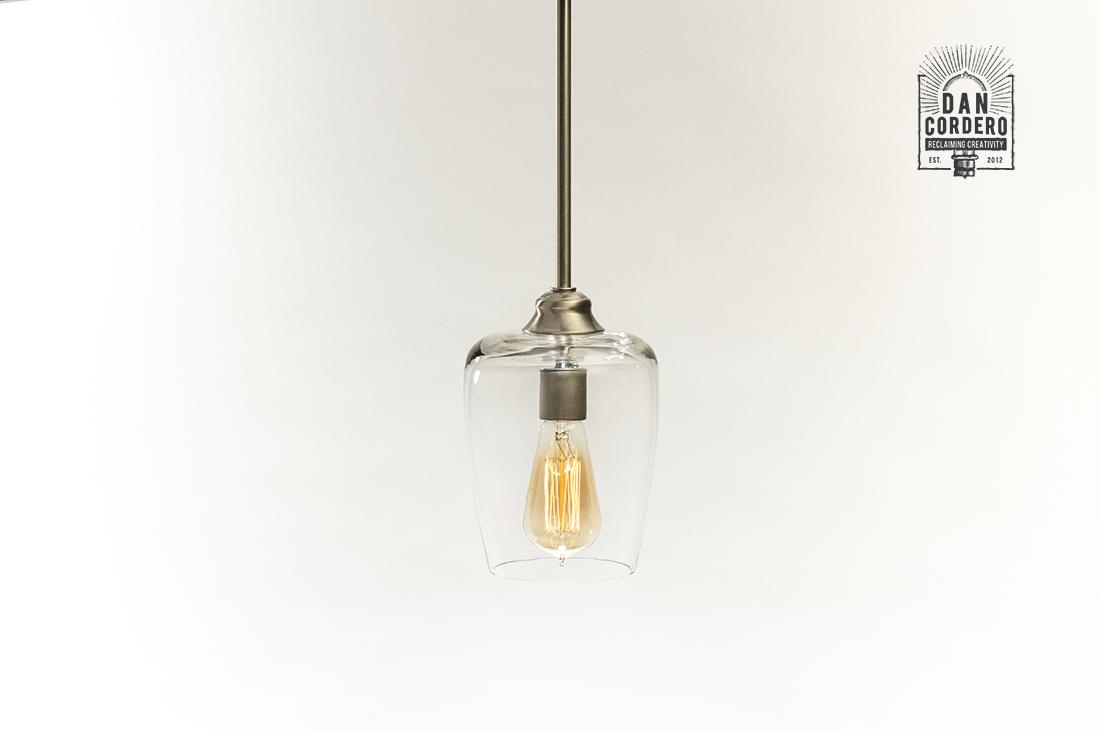 Edison Pendant Light Fixture Small Teardrop Oil Rubbed Bronze