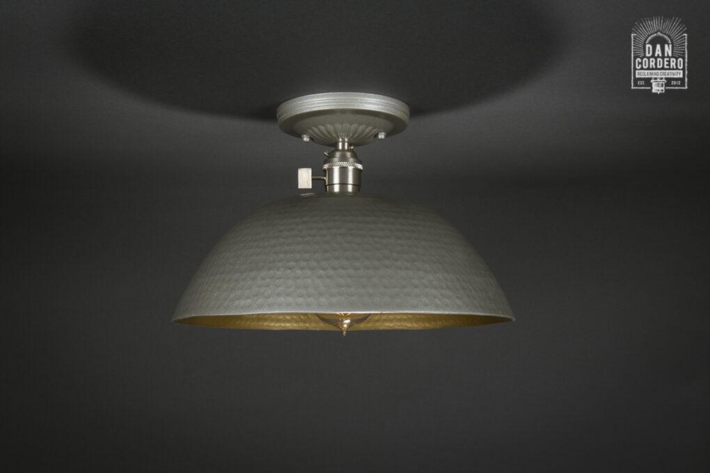 Semi-Flush Light Fixture
