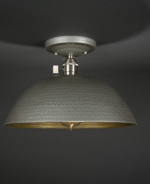 Semi-Flush Light Fixture