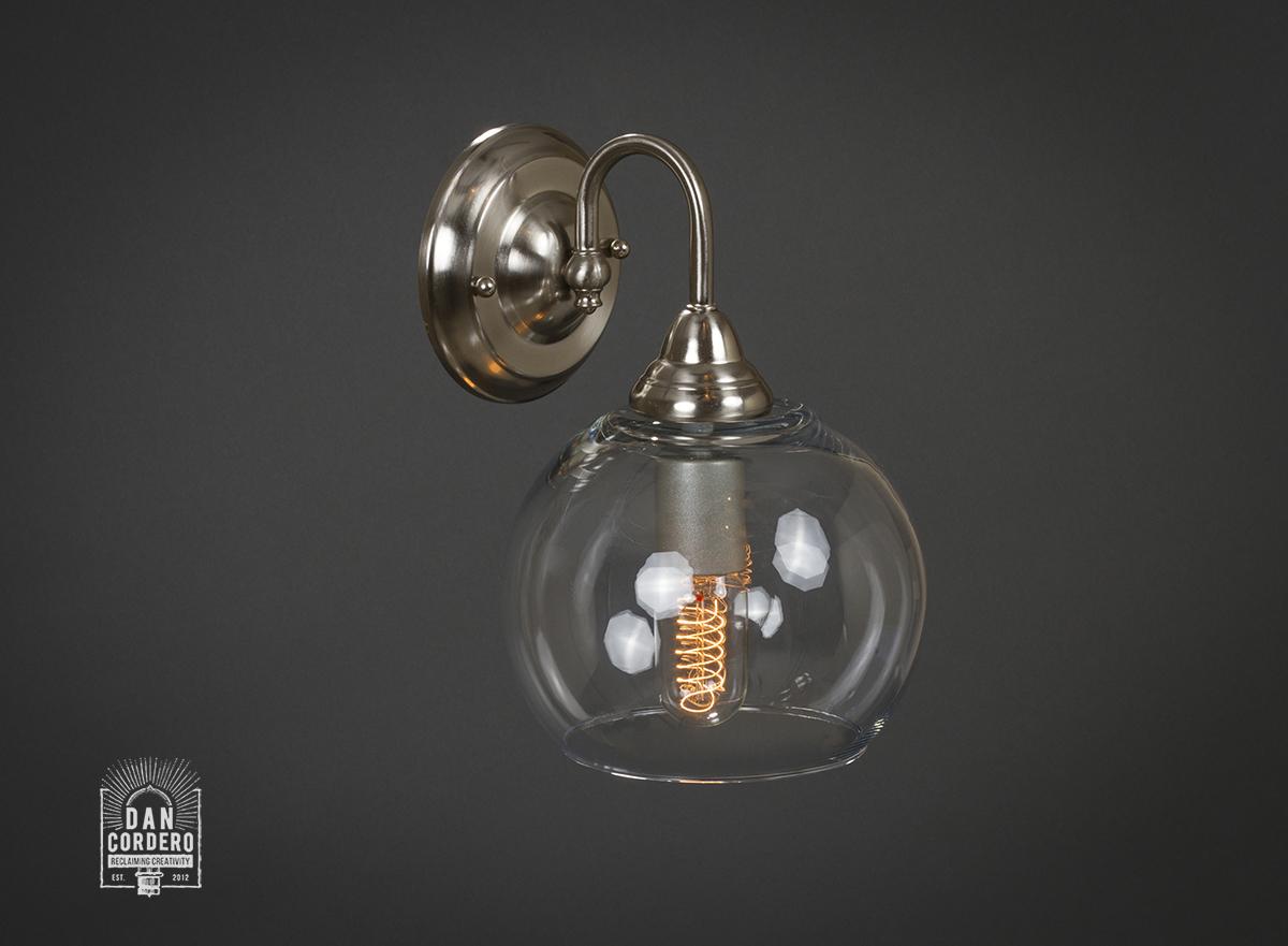 Edison Light Bulb Wall Sconce