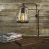 Edison Bulb Industrial Table Lamp