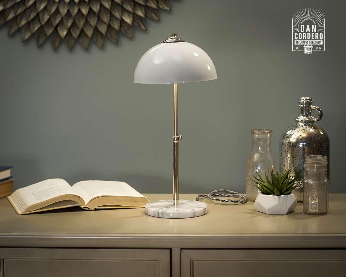 White Marble Table Lamp Desk Lamp Modern Lamp