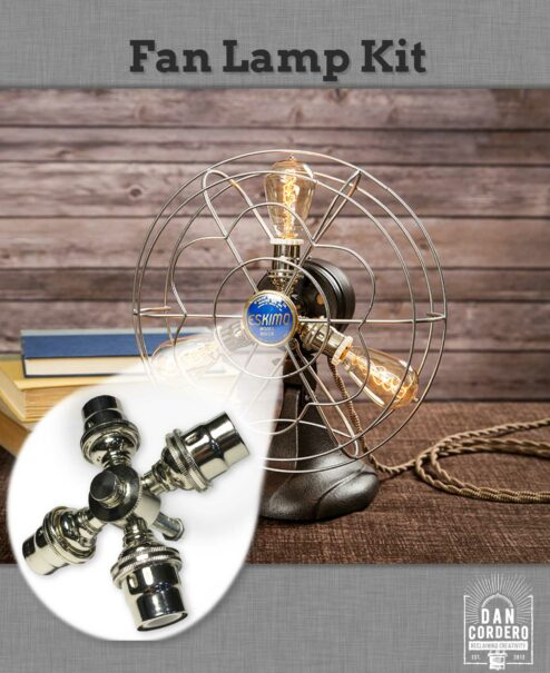 Fan Table Lamp Kit