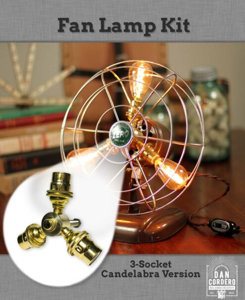 Fan Table Lamp Hardware