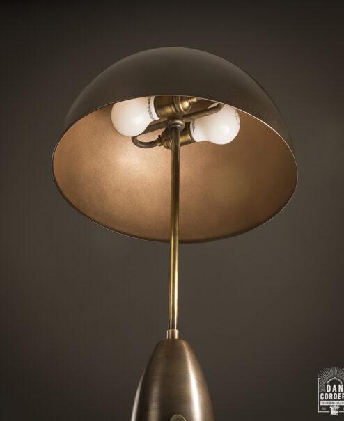 Apparatus Column Table Lamp