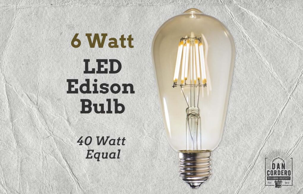 LED Vintage Edison Bulb