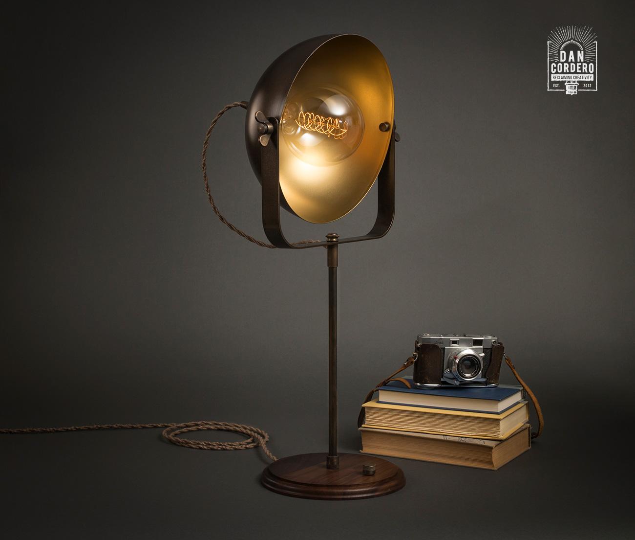 Studio Table Lamp Dan Cordero Lamp Studio Light Industrial Lamp