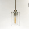 Double Glass Pendant Light