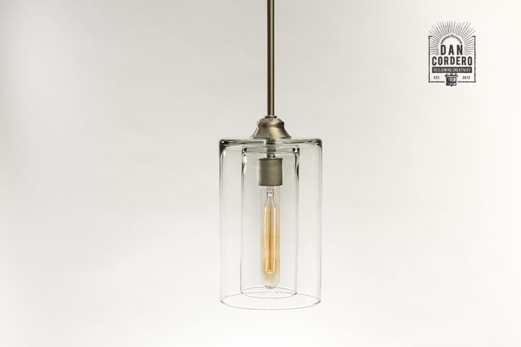 Double Glass Pendant Light