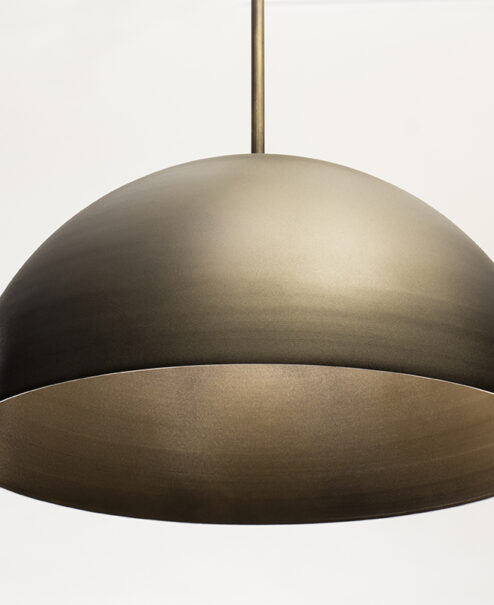 info for a4a75 61128 Oversized Edison Pendant Light Fixture | Aged Brass | Dome