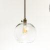 Globe Glass Pendant Light