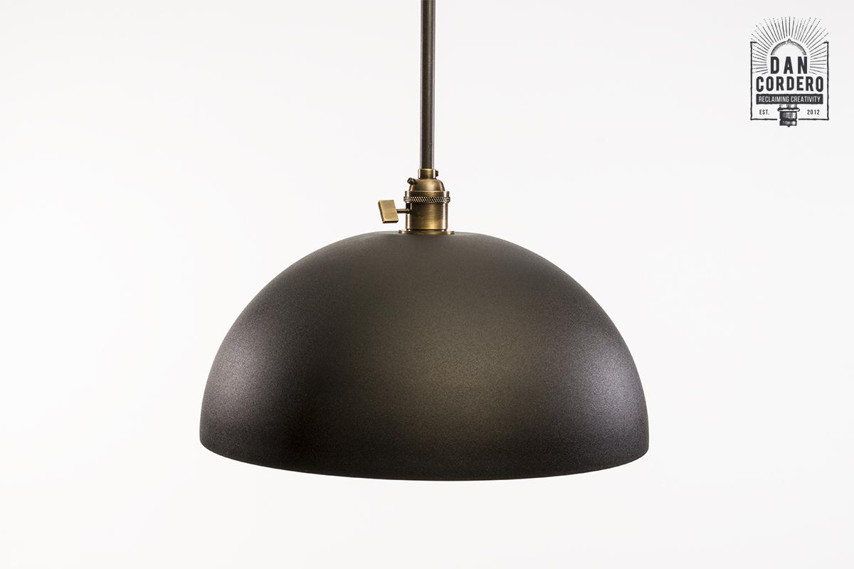 Dome Shaped Pendant Light