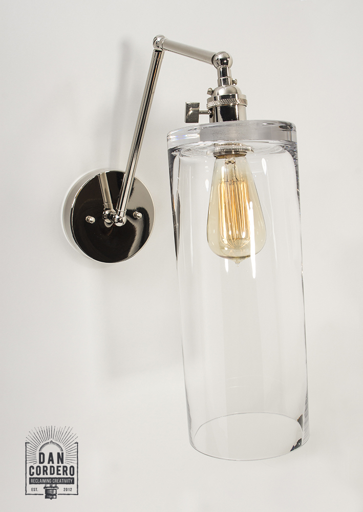 Edison Wall Sconce Light Fixture - Cylinder