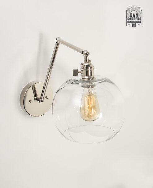 Edison Wall Sconce Light Fixture - Globe