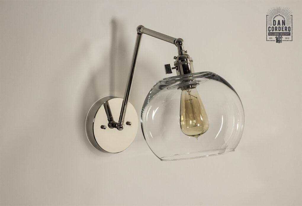 Edison Wall Sconce Light Fixture - Globe