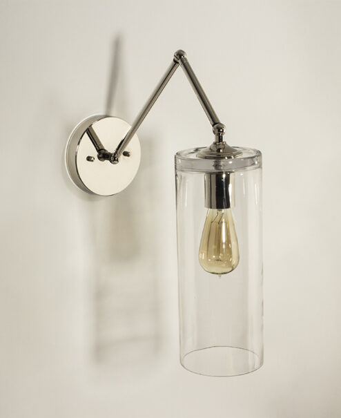 Articulating Wall_Sconce_Cylinder-Shade