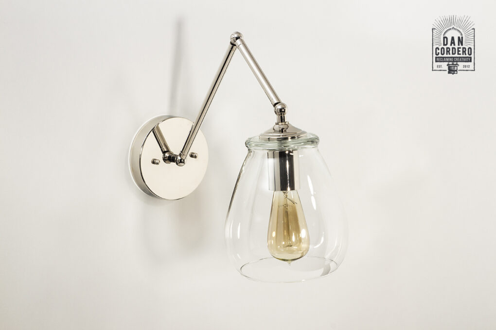 Articulating Wall_Sconce_Pear-Shade