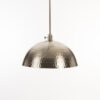 Brushed Nickel Metal Pendant Light