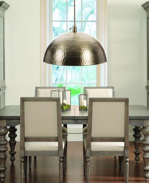 Oversized Pendant - Dining Room