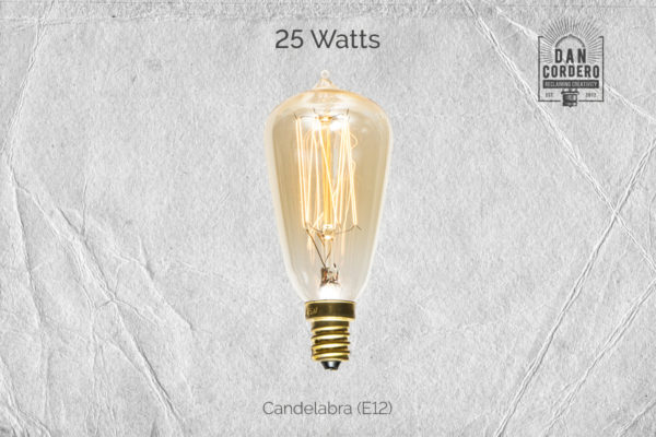 Candelabra Edison Bulb