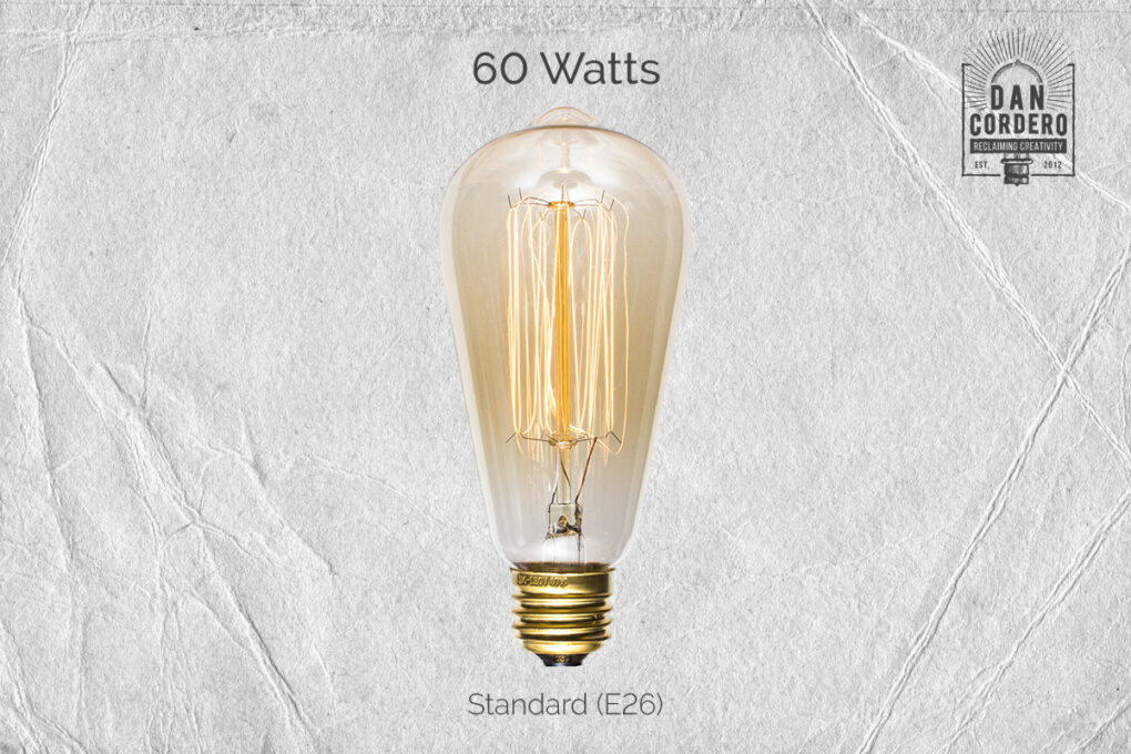 60 Watt Edison Bulb